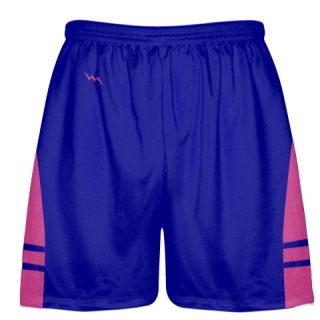 Royal Blue Hot Pink Lacrosse Shorts OG - Lax Shorts Mens Boys