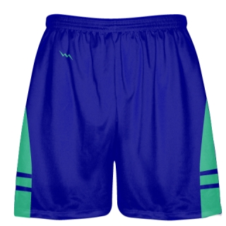 Royal Blue Teal Lacrosse Shorts OG - Lax Shorts Mens Boys