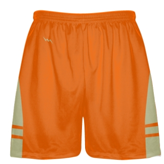 Orange Vegas Gold Lacrosse Short OG - Lacrosse Shorts Mens Boys