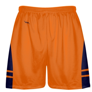 Orange Navy Blue Lacrosse Short OG - Lacrosse Shorts Mens Boys