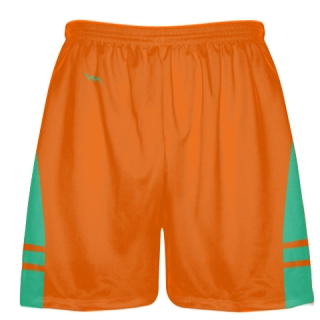 Orange Teal Lacrosse Short OG - Lacrosse Shorts Mens Boys