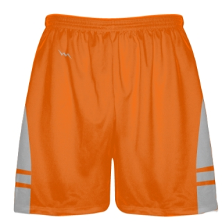 Orange Silver Lacrosse Short OG - Lacrosse Shorts Mens Boys