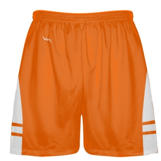 Orange White Lacrosse Short OG - Lacrosse Shorts Mens Boys