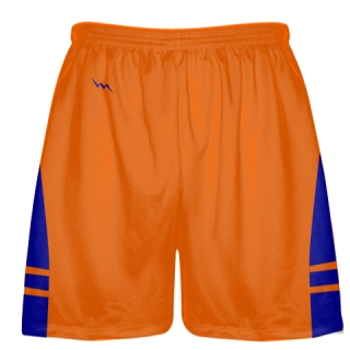 Orange Royal Blue Lacrosse Short OG - Lacrosse Shorts Mens Boys