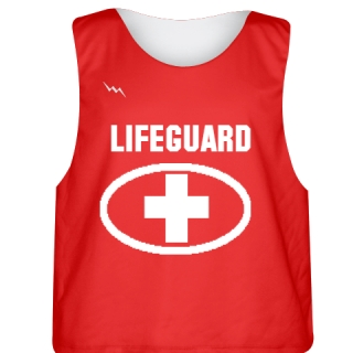 Lifeguard Pinnies - Reversible Lifeguard Shirt - Sublimated