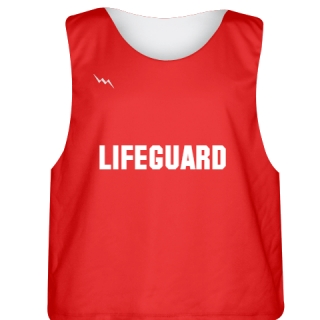 Plain Lifeguard Jersey Style 4 - Reversible Lifeguard Jersey