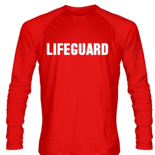 Long Sleeve Lifeguard Shirt Style 4