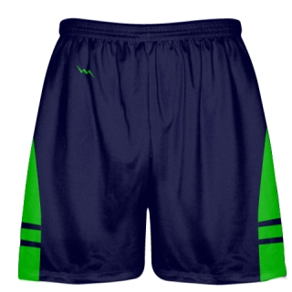OG Navy Green Lacrosse Shorts - Mens Kids Lax Shorts