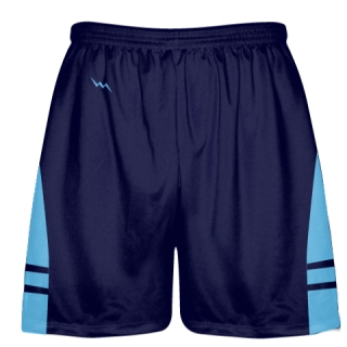 OG Navy Light Blue Lacrosse Shorts - Mens Kids Lax Shorts