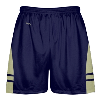 OG Navy Vegas Gold Lacrosse Shorts - Mens Kids Lax Shorts