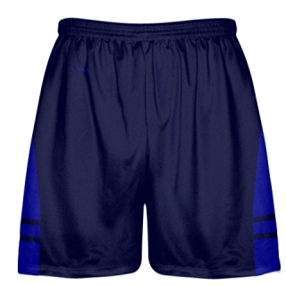OG Navy Blue Royal Blue Lacrosse Shorts - Mens Kids Lax Shorts