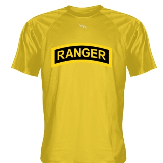 Gold Ranger T Shirt - Ranger T Shirts - Shooter Shirts