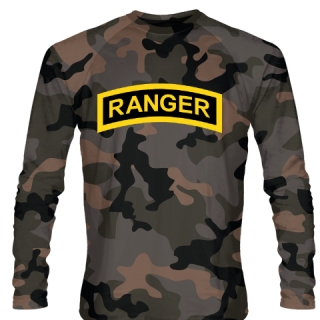 Urban Camouflage Army Ranger Long Sleeve Shirts - Long Sleeve Shooter Shirts