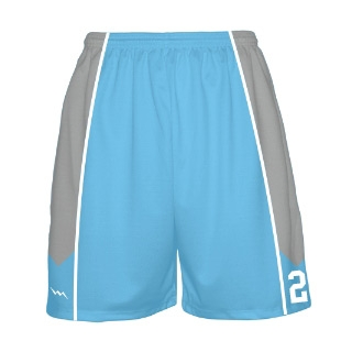 Mens Basketball Short - Sublimated Basketball Danger